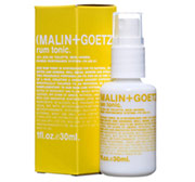 Malin+Goetz Rum Tonic 1 ounce spray in yellow packaging