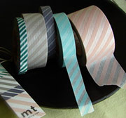 Rolls of Japanese Washi Paper Tape