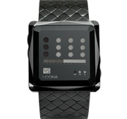 Nooka ZEM Zot NT Watch in black on white background