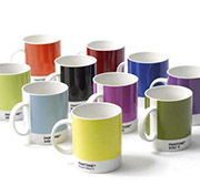 Pantone Coffee Mugs stacked