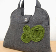 Queen Bee Small Edith Peony Tote