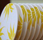 Letterpress Coasters—set of 8