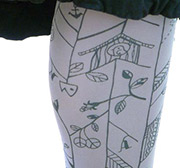 Two patterns of Antipast Tights