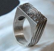 Plank Faux Bois Woodgrain Ring